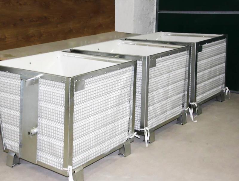 Schlammentwässerungscontainer DRAIN 900
