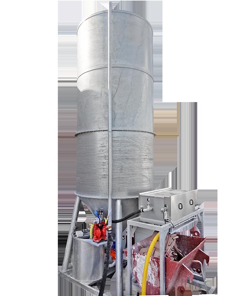 RONDO 750 MIT FILTERPRESSE zur Wasseraufbereitung